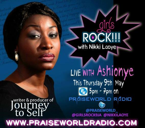 Ashionye on Girls Rock with Nikki Laoye on Praiseworld Raidi