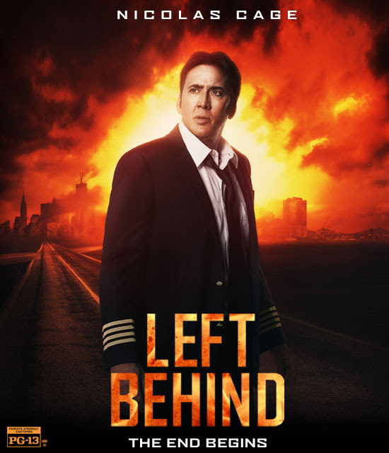 """New Movie """"Left Behind"""" Hits US Theartes Today, October 3"""