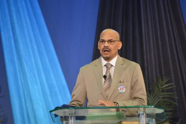 The new senior pastor of Bahamas Faith Ministries, Dr. David Burrow. (Photo: Troy Edward Clarke)