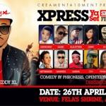 """EVENT: Sheddy XL Hosts """"Xpress Ya Sef"""" Season 5 April 26   @SheddyXL"""