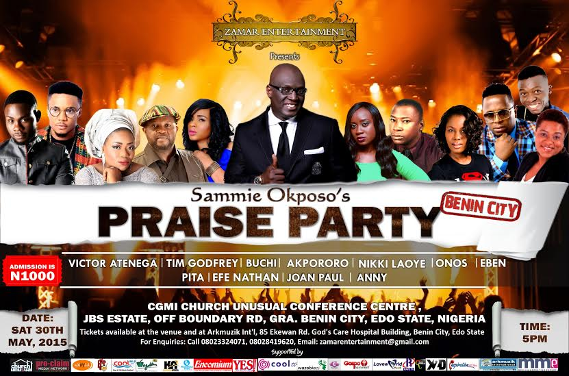 Sammie Okposo and Friends To Storm Benin City with SOPP