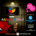 Aimee's Library Unveils #ABookInHand Sponsored By @LaternaBooks   #AimeesLibrary