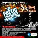The Poetic Christmas Competition | @gospelpoetryhub