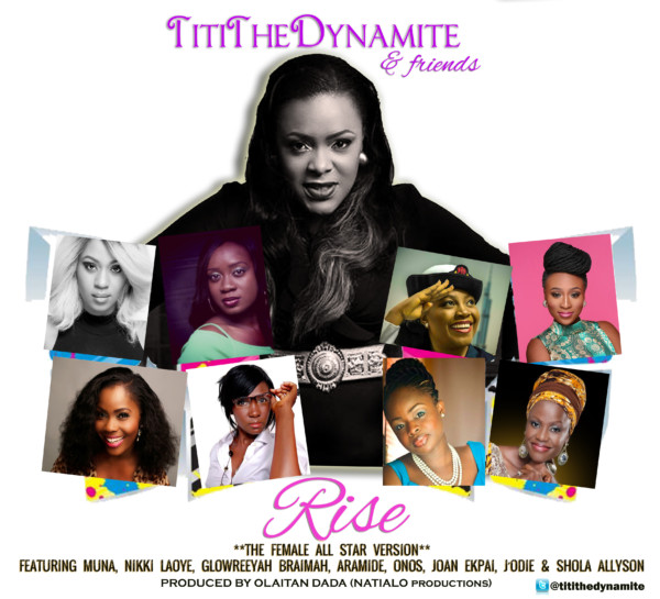 TitiTheDynamite & Friends RISE2 FLYER2