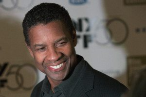 Actor Denzel Washington attends the closing night gala screening of 'Flight' during the 50th New York Film Festival at Alice Tully Hall in New York