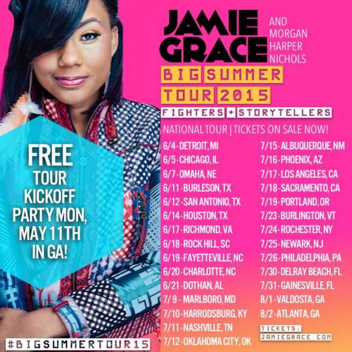Jamie Grace Tour