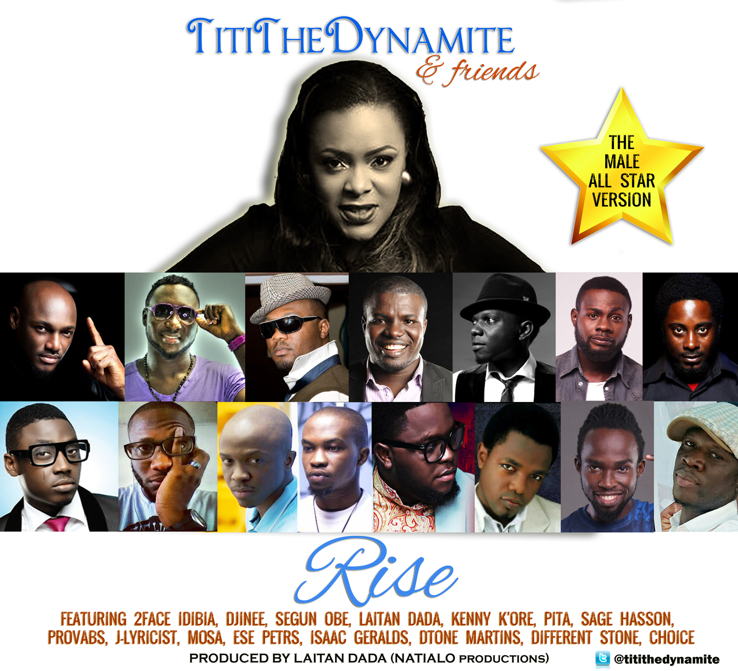 TitiTheDynamite & Friends - Rise (Male Version)