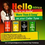 """Bless your Callers with """"More Than A Song"""" Caller Tune by @PriscillaSingz"""