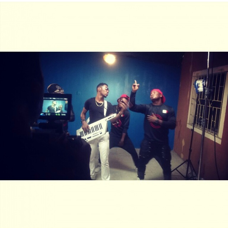 BTS - Okey Sokay - Aka Video Shoot (17)