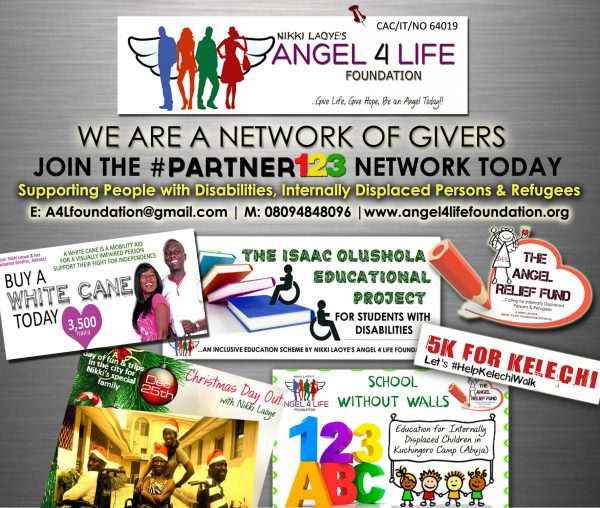 NIKKI ANGEL 4 LIFE PROJECTS AT A GLANCE