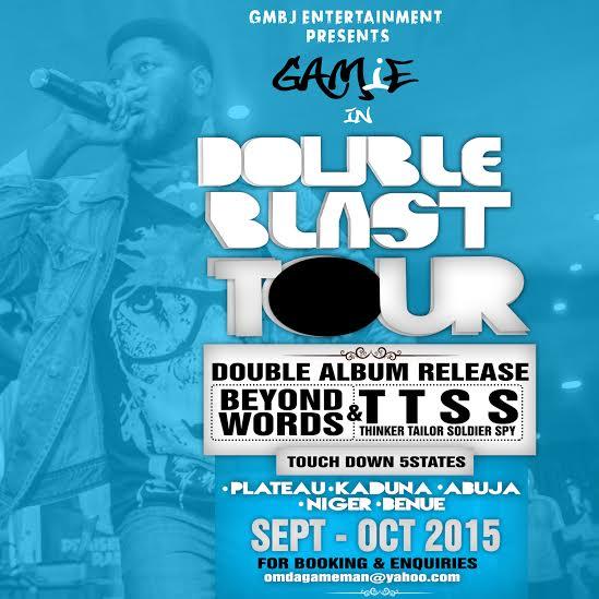 gamie-album-double-blast-tour