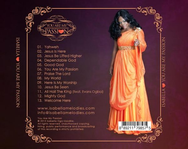 isabella-you-are-my-passion-tracklist