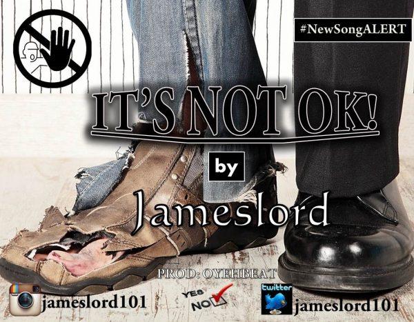 Jameslord-ItsNotOkay