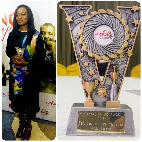 Nikki Laoye Award win 2