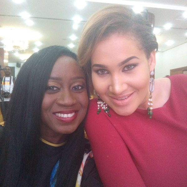 Nikki with Carolyn Danjuma