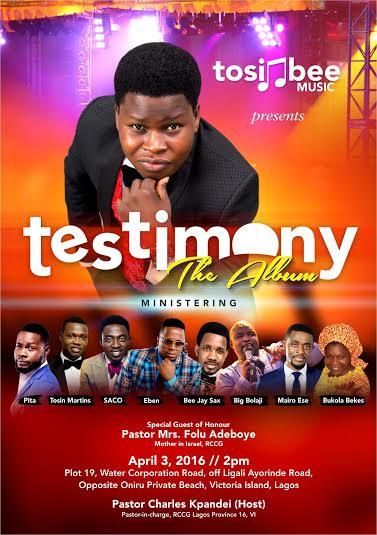 tosinbee-testimony-album-launch