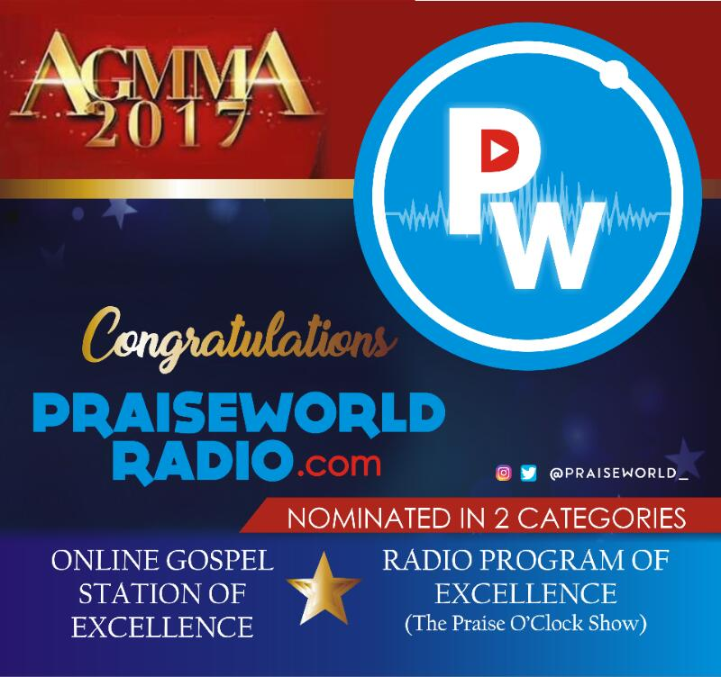 Praiseworld Radio Bags Two Nominations for African Gospel Music
