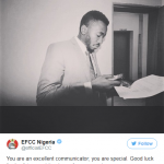 EFCC Reveals The Face Behind Their Entertaining Replies On Their Twitter Account