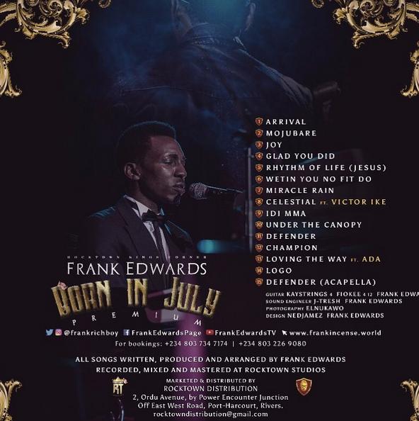 Frank Edwards - Born In July